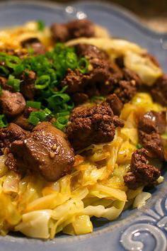 chicken stews with cabbage