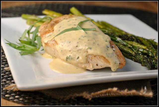Turkey in cream sauce in a slow cooker