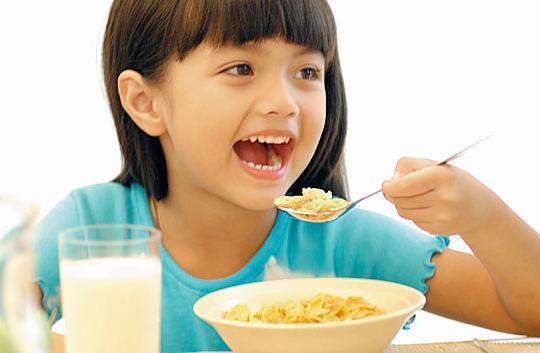 Вкусный завтрак ребенку
