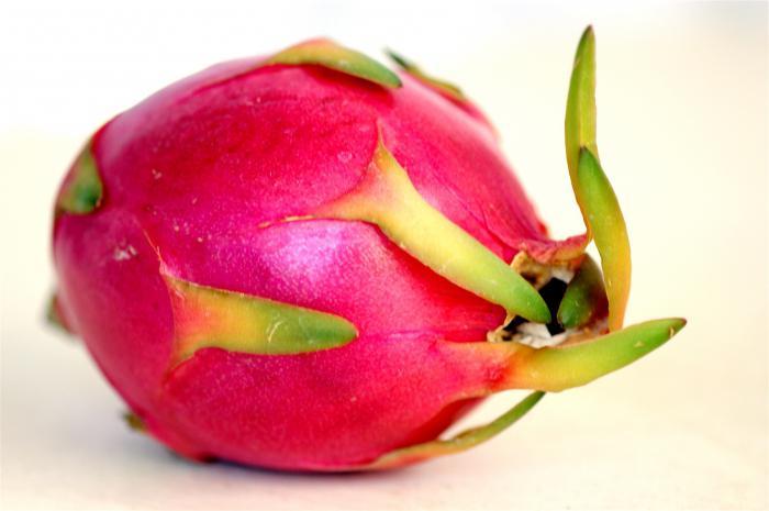 Питахайя красная Экзотические фрукты Фрукты ягоды