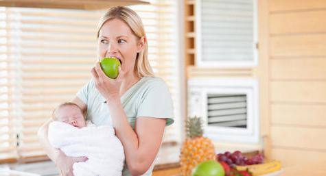 diet for nursing mothers for weight loss by day menu