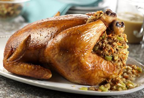 Рецепт утки фаршированной рисом в духовке