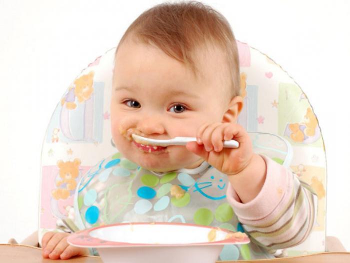 bottle-fed baby food