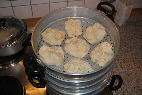 манты с мясом рецепт приготовления