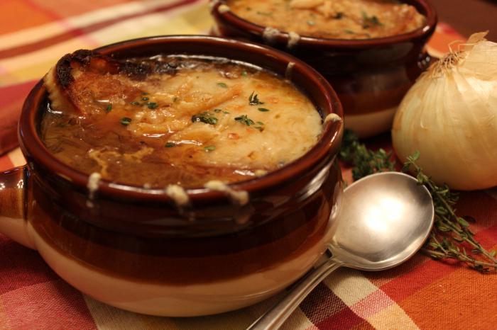 Луковый суп по-французски: рецепт