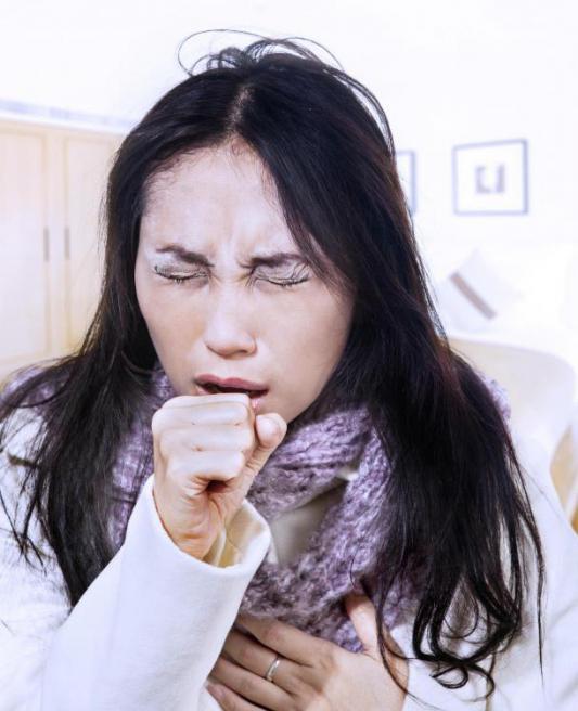 Днем сухой кашель