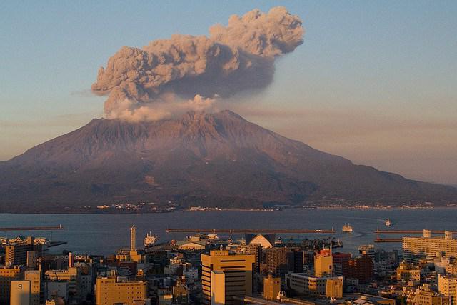 самые высокие действующие вулканы