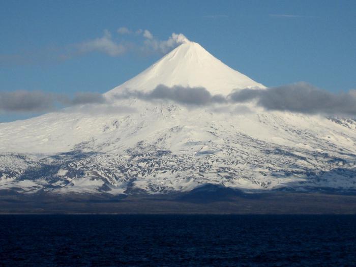 действующие вулканы россии