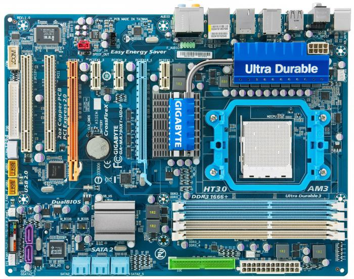 motherboard specifications