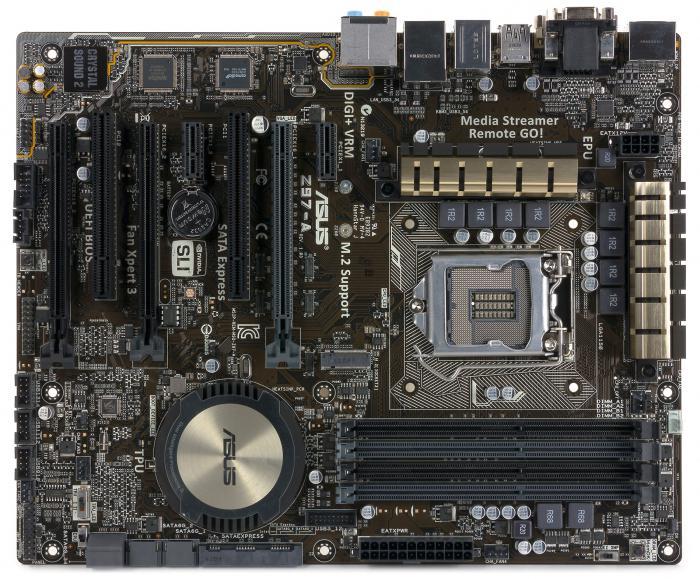 motherboard model