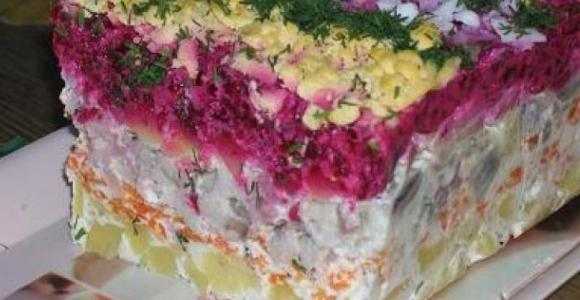 Селедка в шубе рецепт с фото
