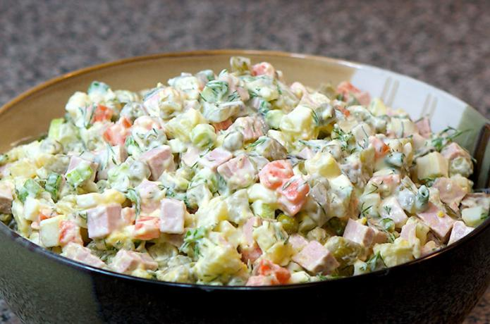 все новогодние рецепты салатов