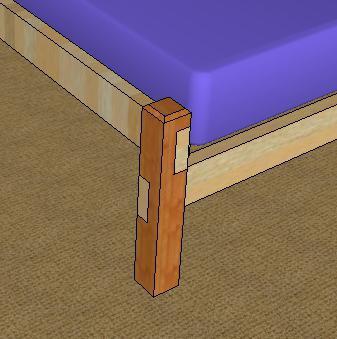 сделать деревянную кровать своими руками