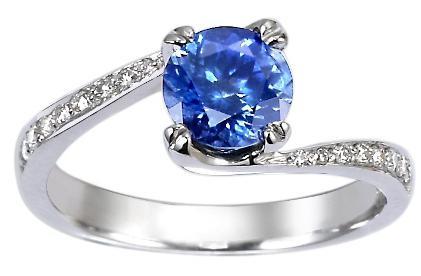 Темно синий камень драгоценный