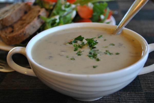рецепт супа из шампиньонов дома