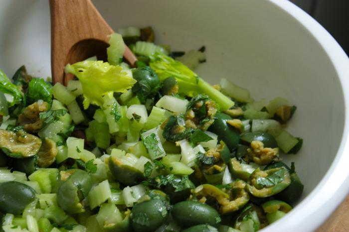Салат из листьев сельдерея рецепты