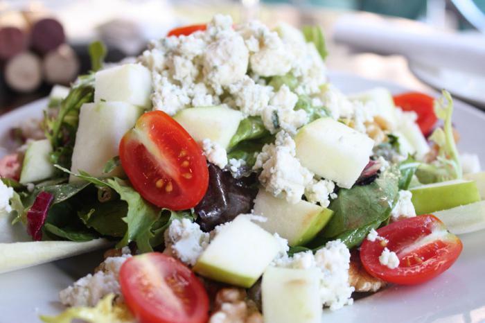 сырный салат рецепт с фото