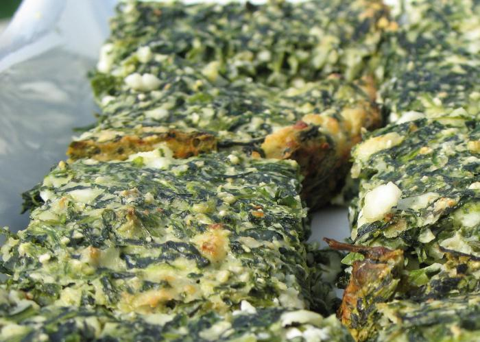 spinach and cheese pie [