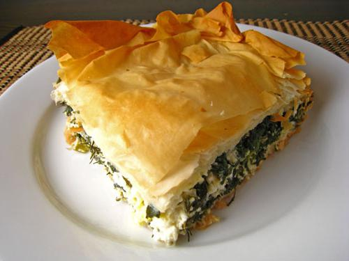 spinach and curd pie