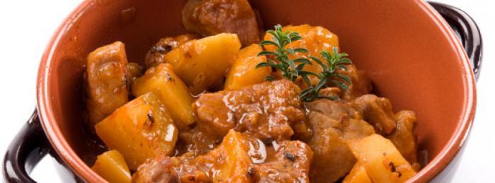 Жаркое из утки с картофелем и капустой