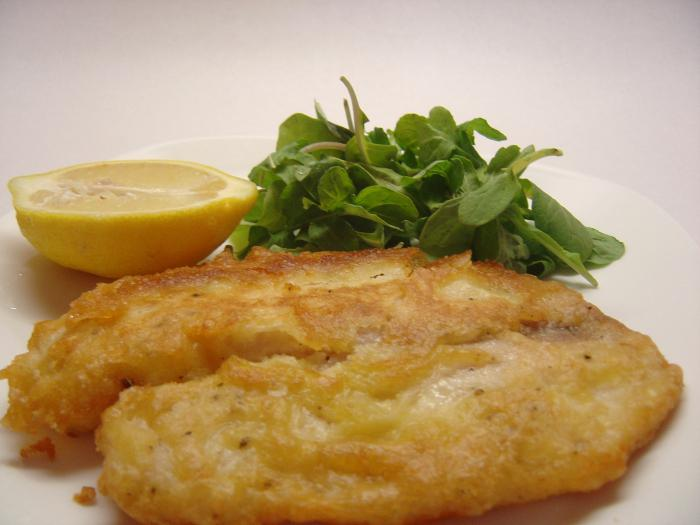 fish dish with mayonnaise