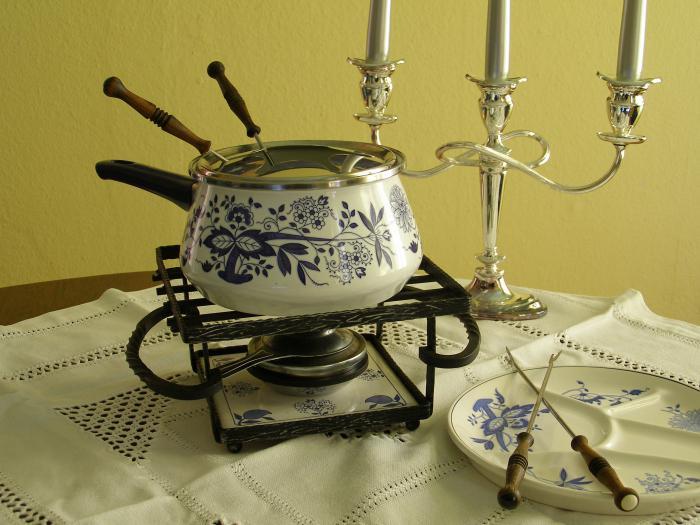 what is a fondue set