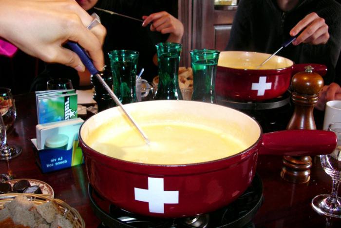 cooking fondue