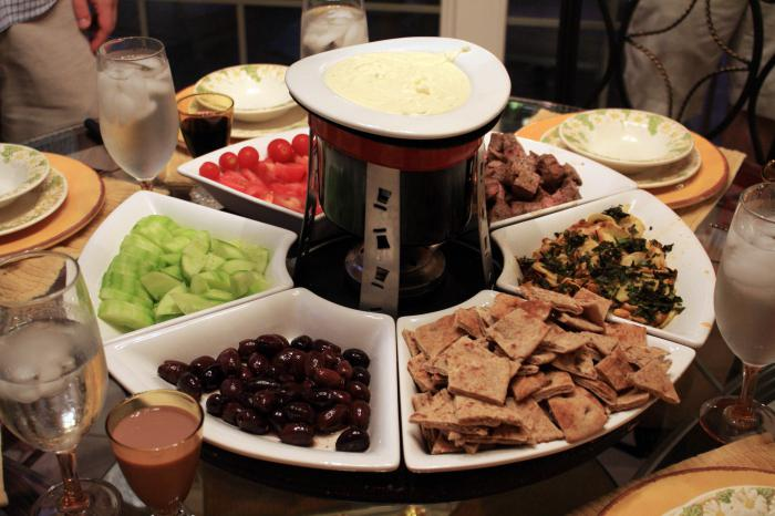 chocolate fondue what is it