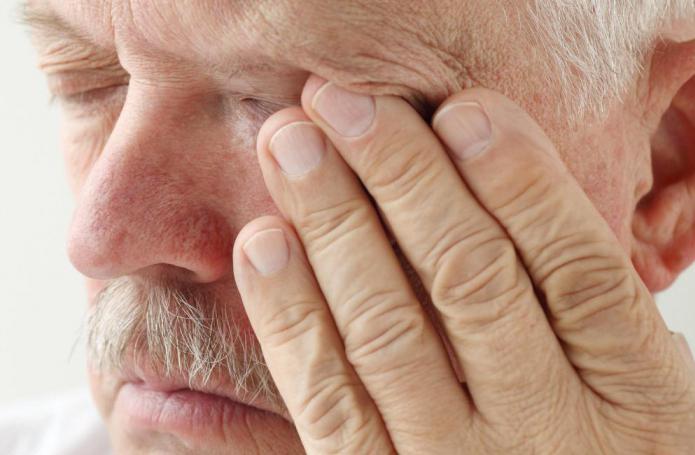 симптомы киста гайморовой пазухи