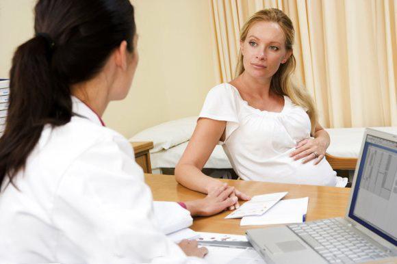 скудные месячные при беременности