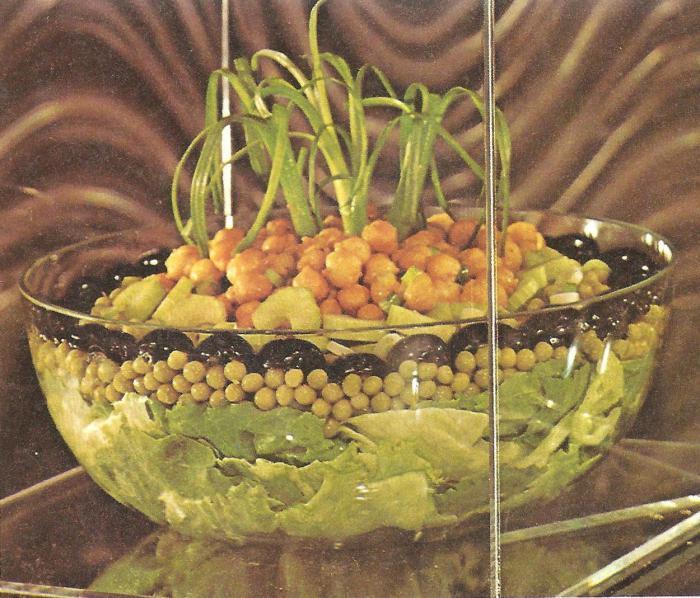рецепты салатов с горошком и крабовыми палочками