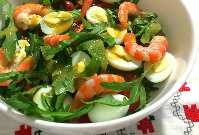 cherry and arugula salad