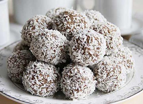 Homemade sweets, photos