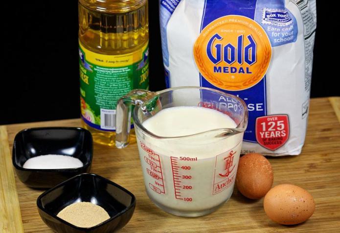 Тесто для оладушек на молоке с дрожжами