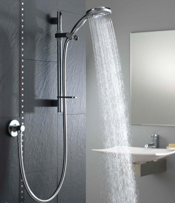 hardening with a contrast shower