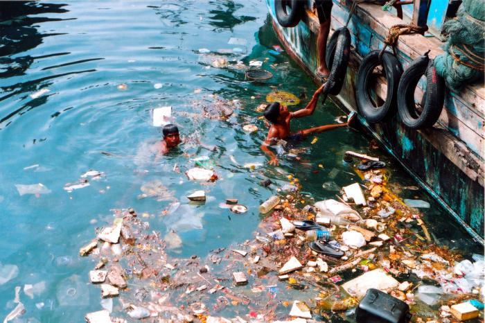 Вода и человек фото