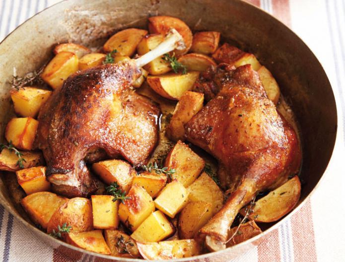 рецепт утка в духовке целиком рецепт с фото