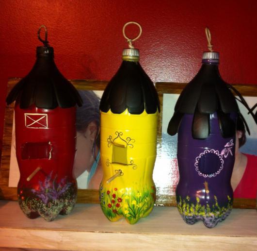Как сделать скворечники своими руками из пластиковых бутылок