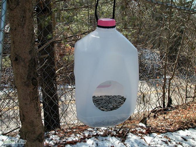 Скворечник своими руками сделать из пластиковых бутылок