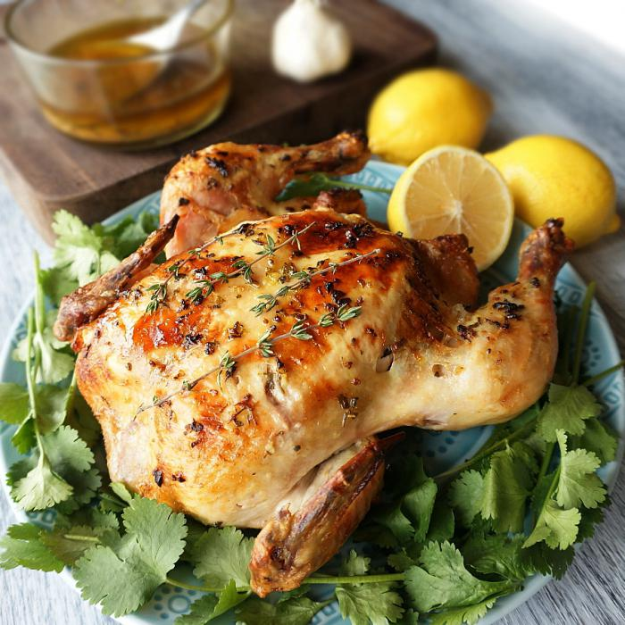 Запеченная курица с картошкой - пошаговый рецепт с фото на ...