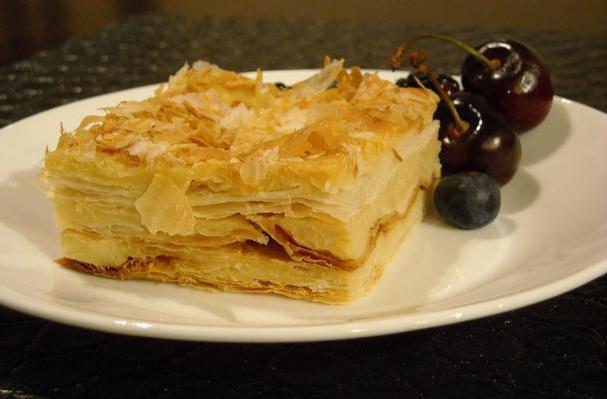 закусочный торт наполеон рецепт с пошаговым фото