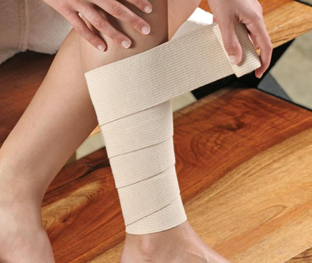 gypsum bandage