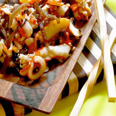 рецепты салатов с жареным луком с фото