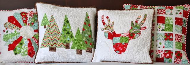Сшить подушку на новый год