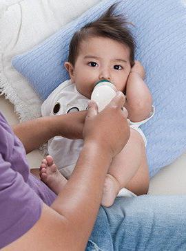 mixed feeding of newborns