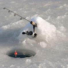 Winter float fishing rod