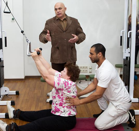 therapeutic exercise for cervical osteochondrosis according to Bubnovsky
