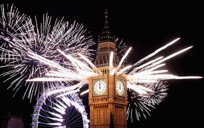 Когда в англии празднуют новый год