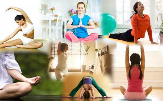 йога для начинающих занятия дома