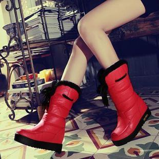 Sleep - red boots